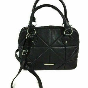 Nine West Purse Black Quilted Cross Body